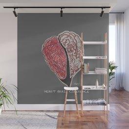 Heart Brain Coherence Art & Text Supporting Matthew Tischler Wall Mural