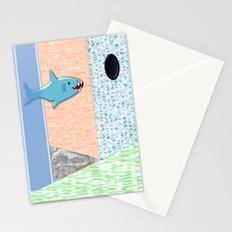 Sharkey Stationery Cards
