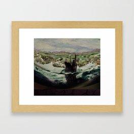 Still Waters Run  Framed Art Print