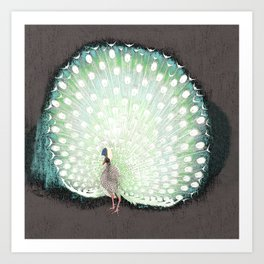 The tail that blinds. Art Print