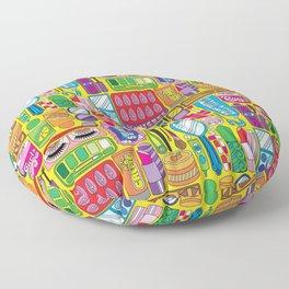 Beauty Routine Sassy Floor Pillow