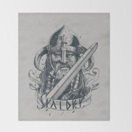 Raider (Viking) Throw Blanket