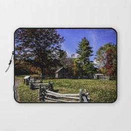 Fenced In Beauty in Virginia Laptop Sleeve