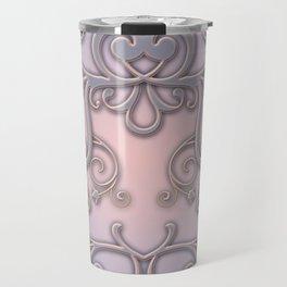 Rose Quartz Serenity Enblem Travel Mug