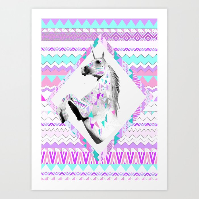 ▲TWIN SHADOW ▲by Vasare Nar and Kris Tate  Art Print