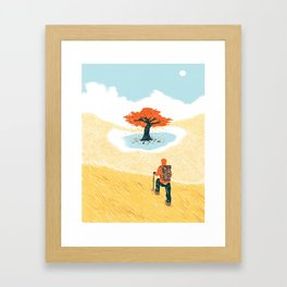Finding Your Purpose Framed Art Print