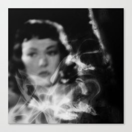 smokey room Canvas Print