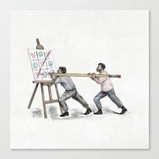Love Wins (original)  Canvas Print
