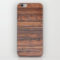 wooden iPhone & iPod Skins featuring wooden by Katharina Nachher