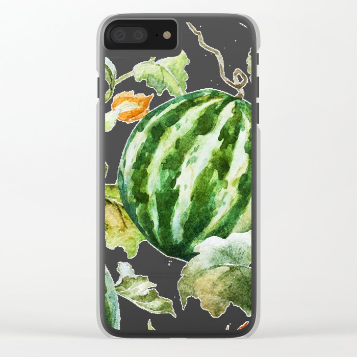 Melon Pattern 06 Clear iPhone Case