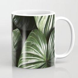 dark green jungle rainforest tropical leaf Coffee Mug