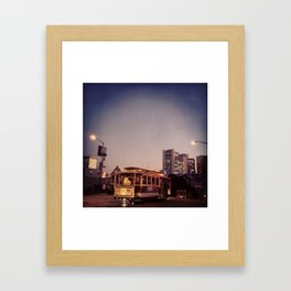 Cable Car, Powell Framed Art Print