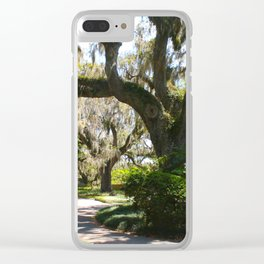 Southern Springtime Clear iPhone Case