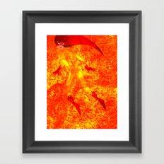 Child (Fire) Star Framed Art Print