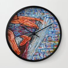 Getting Cubed Wall Clock