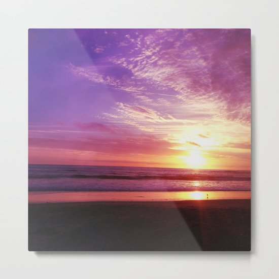 Purple Daze Metal Print
