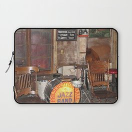 Jazz Band Stage Laptop Sleeve
