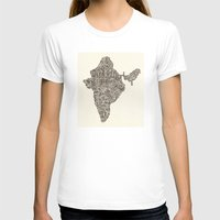 india T-shirts featuring India by Mariana Beldi