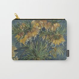 Crown Imperials in a Copper Vase Carry-All Pouch
