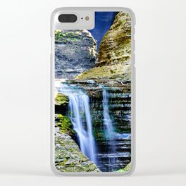 And So the Water Moves Clear iPhone Case