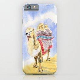 Camel Watercolor  iPhone Case