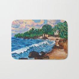 Hawaiian Beach Bath Mat