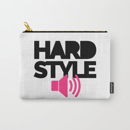 Hardstyle Speaker Music Quote Carry-All Pouch