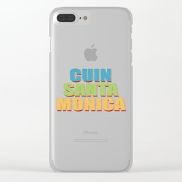 CUIN Santa Monica Clear iPhone Case