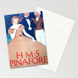Vintage Art Deco pre 1920's Theatre Play Poster Style Stationery Cards