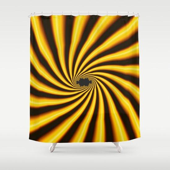 Twisted Sunshine Shower Curtain