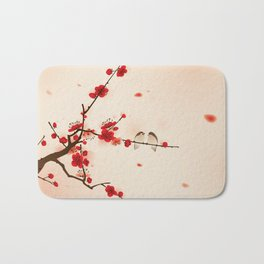 Oriental plum blossom in spring 007 Bath Mat