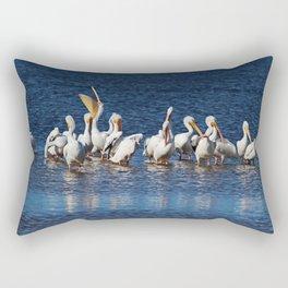 Fighting the Odds I Rectangular Pillow