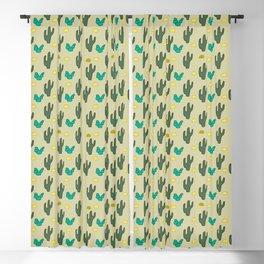 Cute Cactus Blackout Curtain