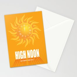 High Noon - Alternative Movie Poster Stationery Cards