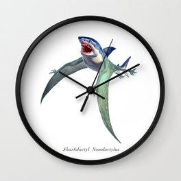 Sharkdactyl Nomdactylus Wall Clock