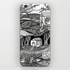 Two Worlds iPhone Skin