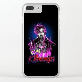 Erik Killmonger - Paint brush Clear iPhone Case