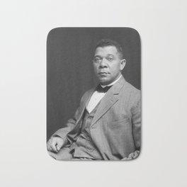 Booker T. Washington by Francis Benjamin Johnston, c. 1895 Bath Mat