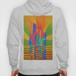 Dreamboat - Cubist Junk In Primary Colors Hoody