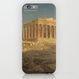 The Parthenon by Frederic Edwin Church iPhone Case