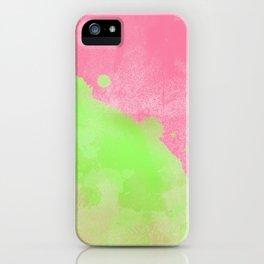 Pinkgreen SplashUp iPhone Case