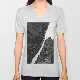 up from abyss Unisex V-Neck