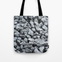 black and gold Tote Bags featuring Black Gold by Marina Scheinost