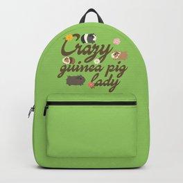 Crazy guinea pig lady Backpack