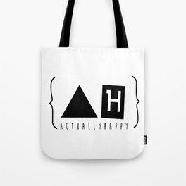 Actually Happy  Tote Bag