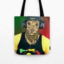 Grime Lion Tote Bag