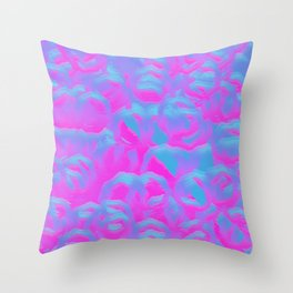 Insanity Bubbles Overloaded Throw Pillow