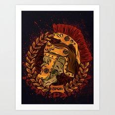 John Spartan Art Print