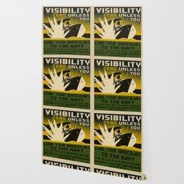 Vintage poster - Lend Your Binoculars Wallpaper
