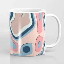Garrulous Marble Pattern Coffee Mug